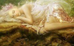 fekvo-angyal